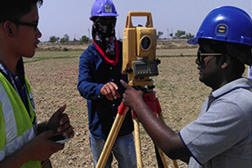 Topographic Survey and Creation of DEM